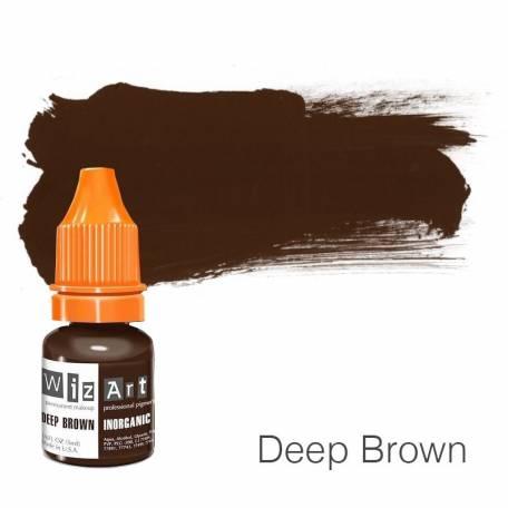 Купить Пигмент для татуажа WizArt Inorganic Deep Brown 5 мл