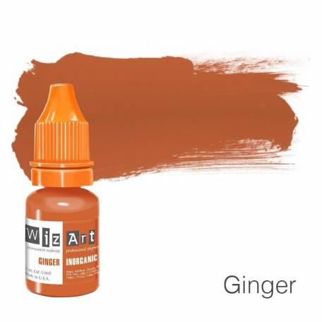 Купить Пигмент для татуажа WizArt Inorganic Ginger 10 мл