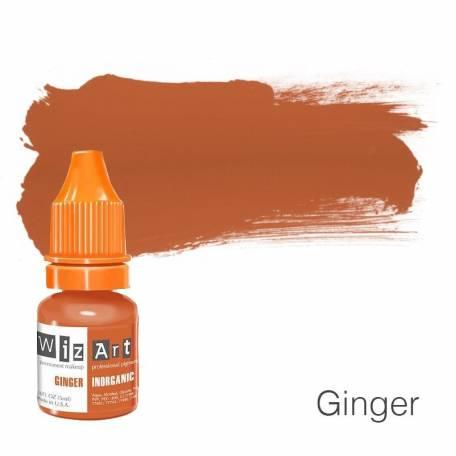 Купить Пигмент для татуажа WizArt Inorganic Ginger 5 мл