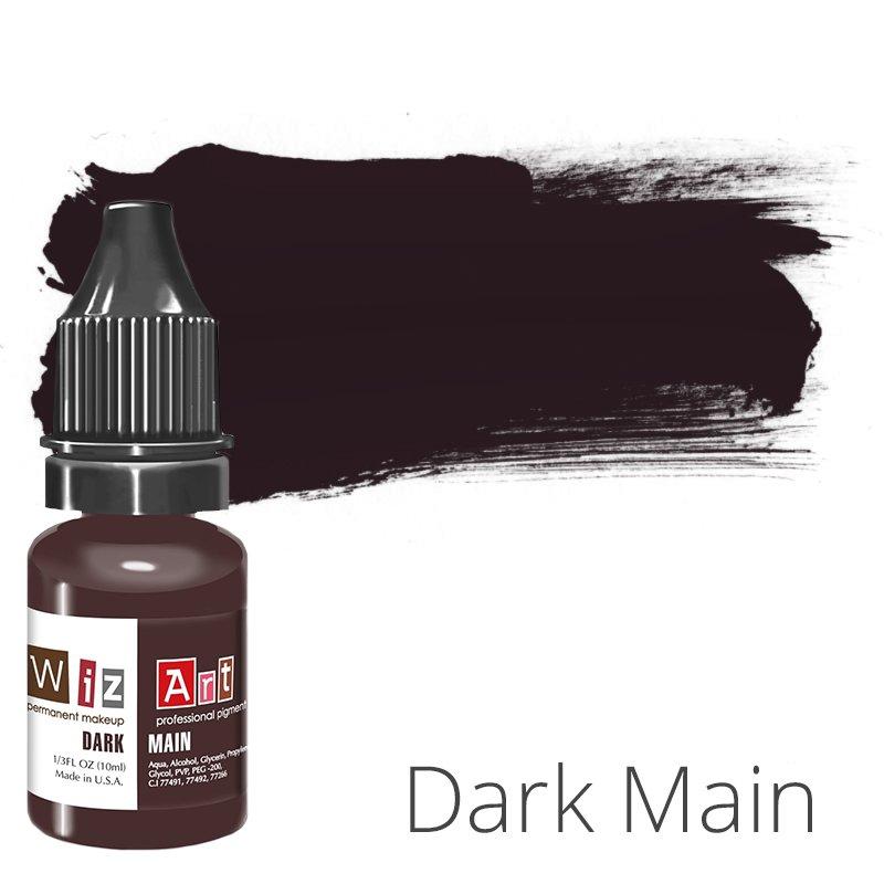 Купить Пигмент для татуажа WizArt Main Dark 10 мл