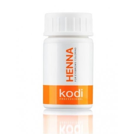 Хна для окрашивания бровей Kodi (черная)  10 г