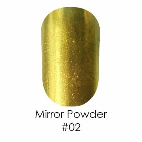 Зеркальная пудра Naomi 002 (золотая),1 г