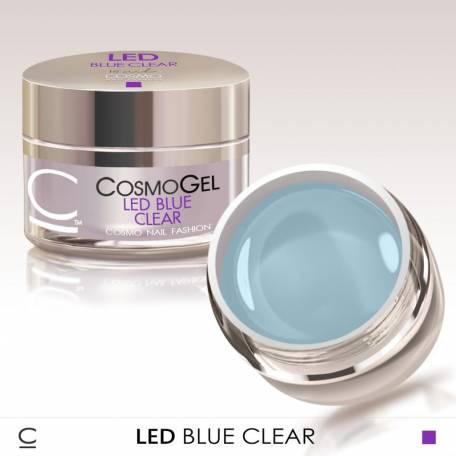 Купити Гель для нарощування Cosmolac Clear Blue Led