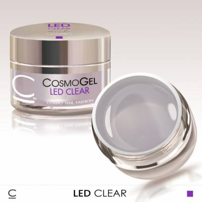 Гель для наращивания Cosmolac Led Clear 50 мл