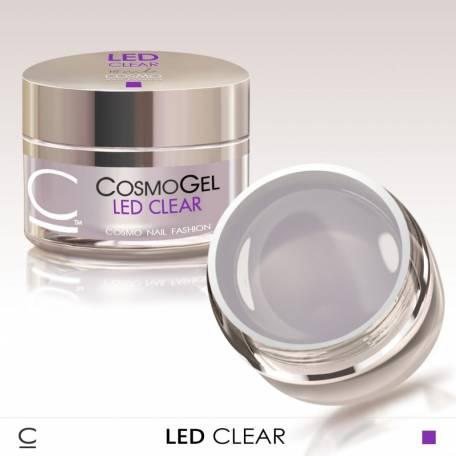 Купить Гель для наращивания Cosmolac Led Clear
