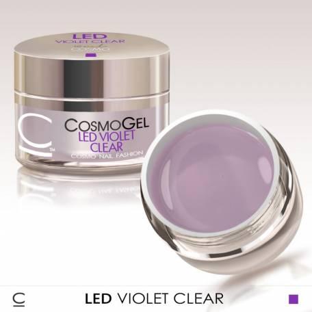 Купити Гель для нарощування Cosmolac Led Violet Clear