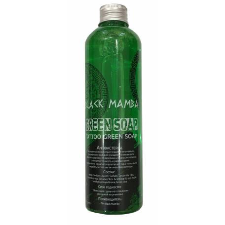 Купити Зелене мило Black Mamba Green Soap 250 мл