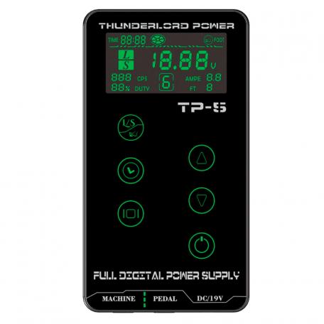 Купить Блок питания для тату-машинки Thunderlord TP-5 (Hurricane Upgrade)