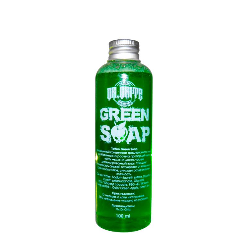 Купить Зелёное мыло Dr. Gritz 100 мл