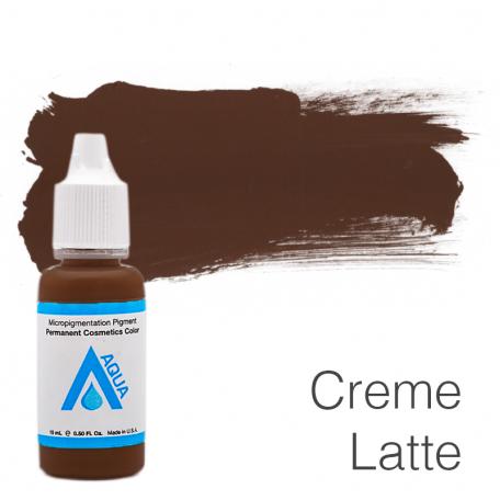 Купить Пигмент для татуажа Aqua Creme Latte 15 мл