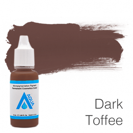 Купить Пигмент для татуажа Aqua Dark Toffee 15 мл