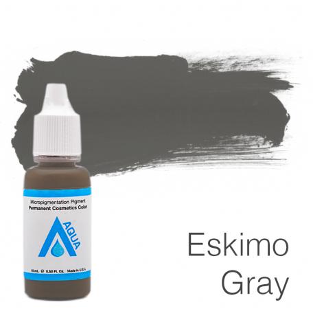 Купить Пигмент для татуажа Aqua Eskimo Gray 15 мл