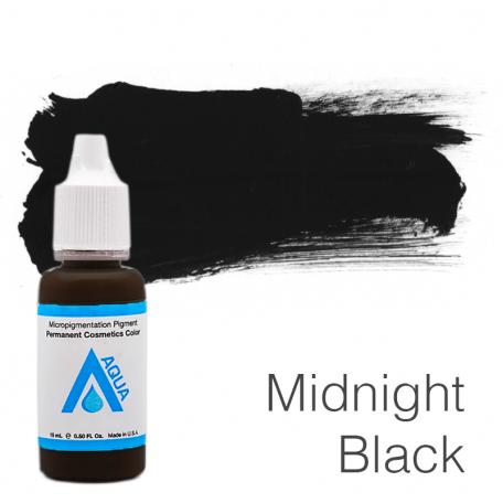 Купить Пигмент для татуажа Aqua Midnight Black 15 мл