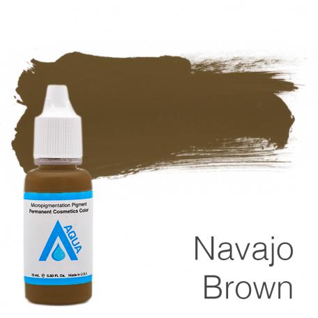 Купить Пигмент для татуажа Aqua Navajo Brown 15 мл