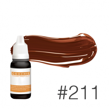 Купить Пигмент для татуажа Goochie 211 Apricot Coffee 15 мл