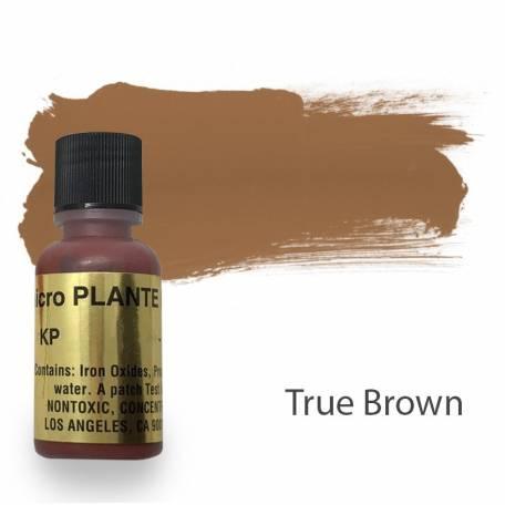 Купить Пигмент для татуажа Micro Plante PMU KP-1 True Brown 15 мл