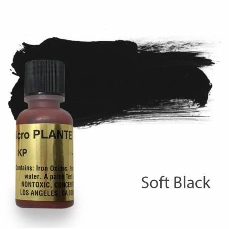 Купить Пигмент для татуажа Micro Plante PMU KP-10 Soft Black 15 мл