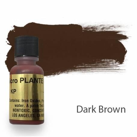 Купить Пигмент для татуажа Micro Plante PMU KP-12 Dark Brown 15 мл