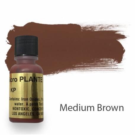 Купить Пигмент для татуажа Micro Plante PMU KP-13 Medium Brown 15 мл
