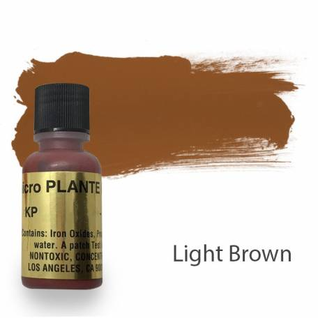 Купить Пигмент для татуажа Micro Plante PMU KP-14 Light Brown 15 мл