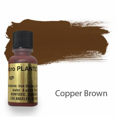 Купить Пигмент для татуажа Micro Plante PMU KP-2 Copper Brown 15 мл