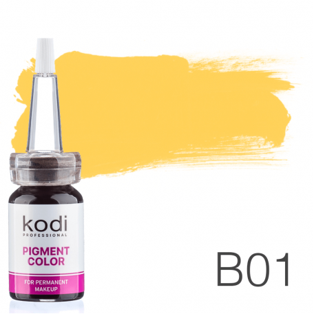 Купить Пигмент для татуажа Kodi Professional B01 10 мл