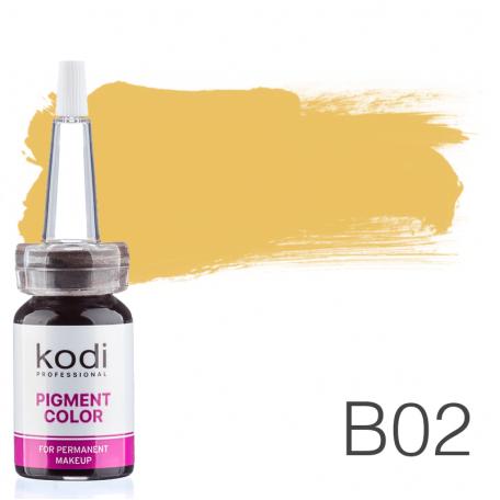 Купить Пигмент для татуажа Kodi Professional B02 10 мл