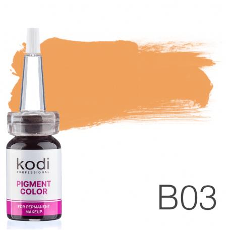 Купить Пигмент для татуажа Kodi Professional B03 10 мл