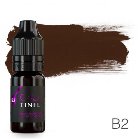 Купить Пигмент для татуажа Tinel B2 Темный шоколад 10 мл