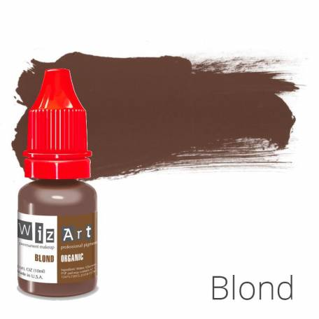 Купить Пигмент для татуажа WizArt Organic Blond 10 мл