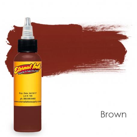 Тату краска Eternal Brown