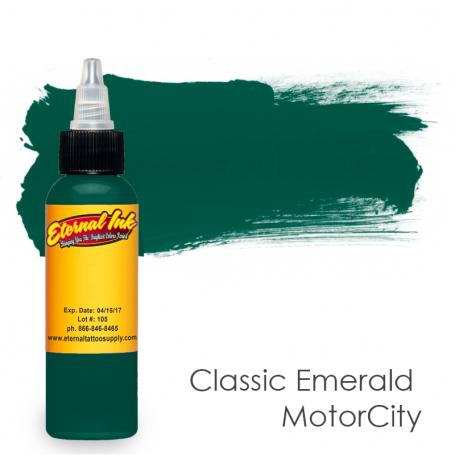 Купить Тату краска Eternal Classic Emerald MotorCity
