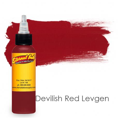Купить Тату краска Eternal Devilish Red Levgen