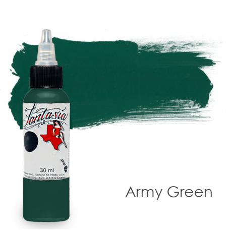 Купить Тату краска Fantasia  Army Green