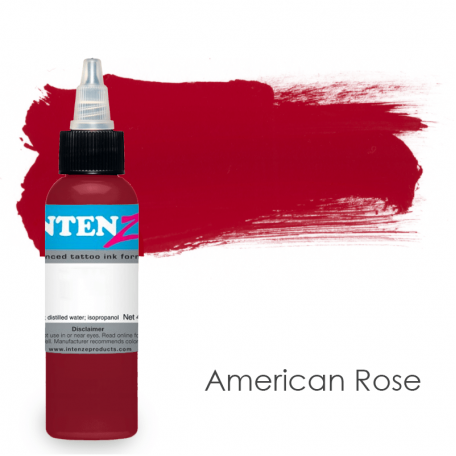 Купить Тату краска Intenze American Rose