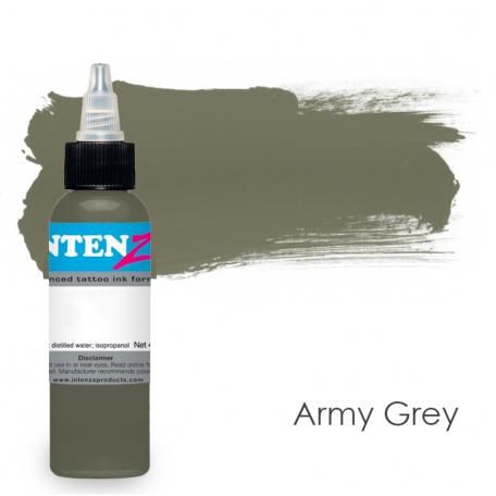 Купить Тату краска Intenze Army Grey