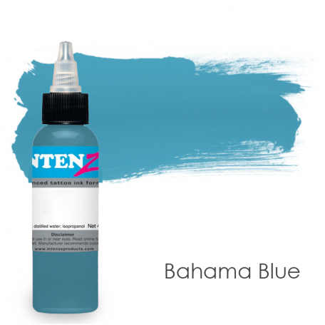 Купить Тату краска Intenze Bahama Blue