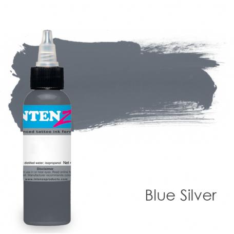 Купить Тату краска Intenze Blue Silver