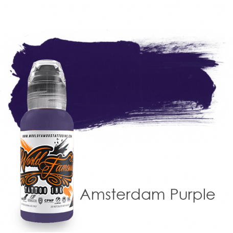 Купить Тату краска World Famous Amsterdamn Purple