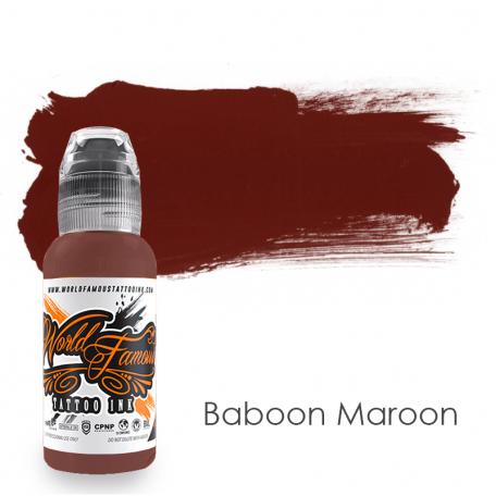 Купить Тату краска World Famous Baboon Maroon