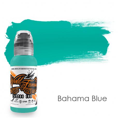 Купить Тату краска World Famous Bahama Blue