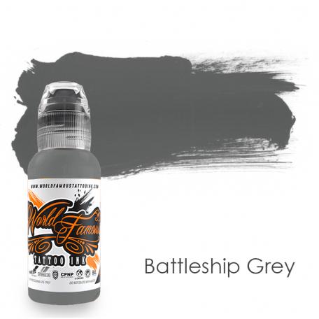 Купить Тату краска World Famous Battleship Grey