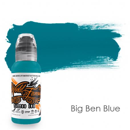 Купить Тату краска World Famous Big Ben Blue