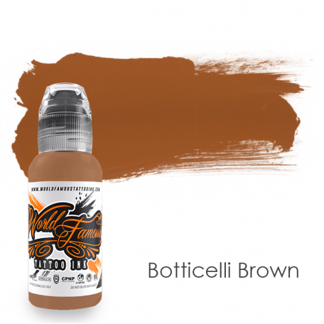 Купить Тату краска World Famous Botticelli Brown