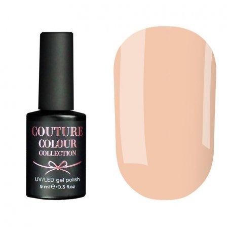 Гель-лак Couture Colour №007 (дымчатый розовый, эмаль, для френча), 9 мл
