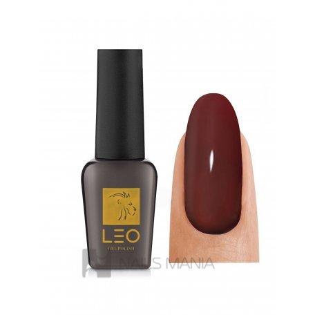 Гель-лаки LEO - Гель-лак Leo №002 (темный сливовый, эмаль), 9 мл