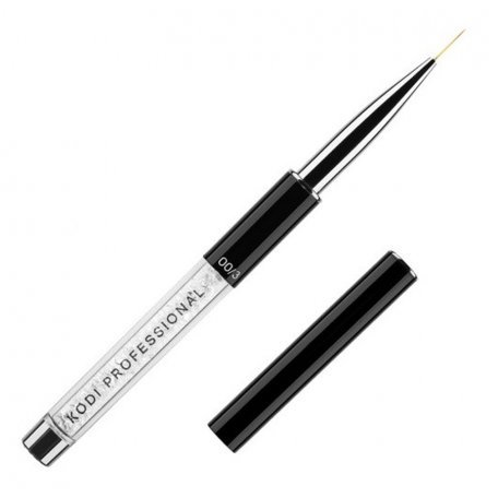 Кисть для росписи в тубусе №00/3 Kodi (нейлон; ручка: метал, акрил)