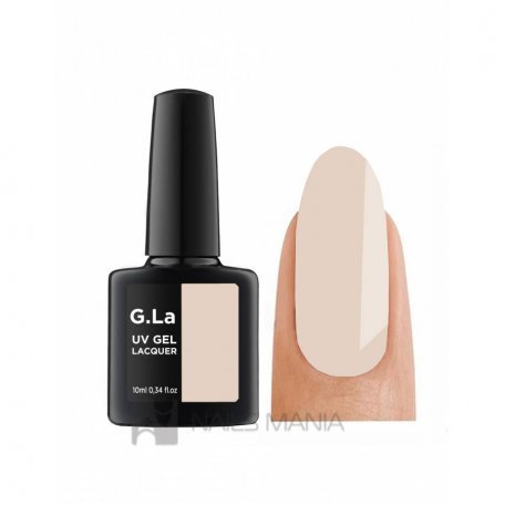 Гель-лак G.La color UV Gel №18 (Молочный), 10 мл