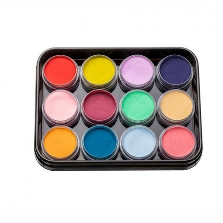 Наборы акрилов - Набор цветных акрилов L1 (12 шт)
