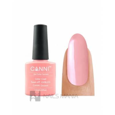 Гель-лак CANNI №011 (розово-коралловый, эмаль), 7.3 мл